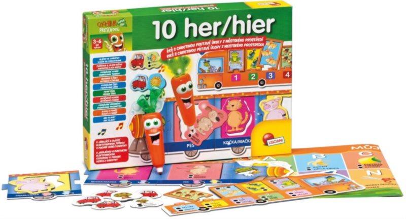 Interaktivní soubor her pro děti - Hry s Carotinou