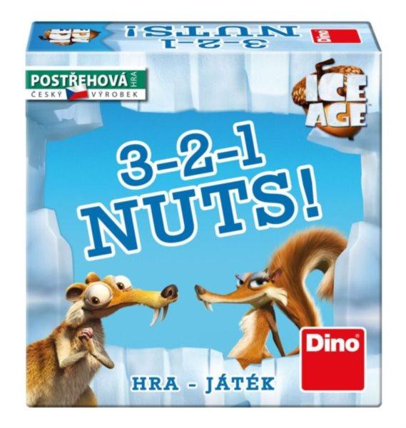 Postřehová hra 3-2-1 Nuts!, DINO