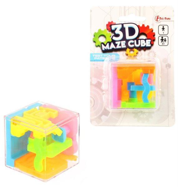 TOI-TOYS 3D Maze Cube - labyrint