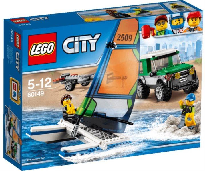 Stavebnice LEGO® 60149 4x4 s katamaránem