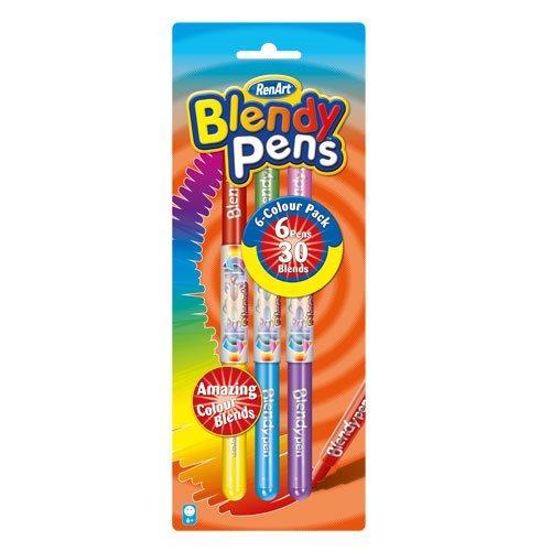 Sada fixů RenArt Blendy Pens Colour Pack 6 ks