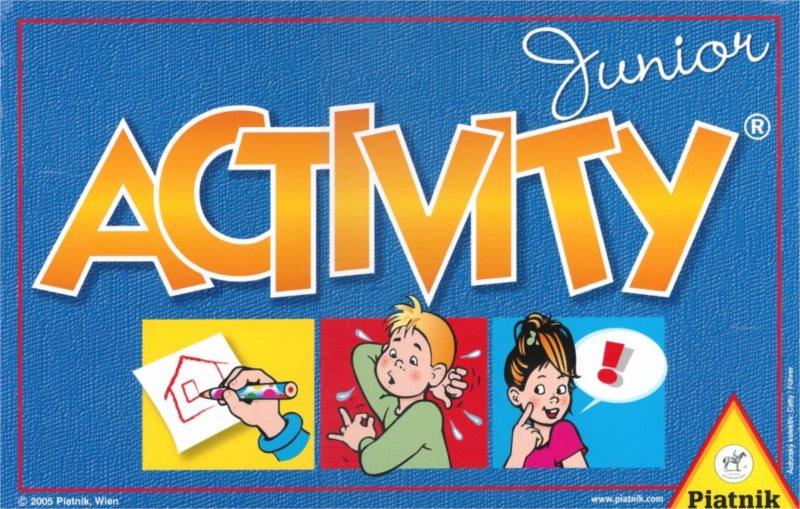 Společenská hra Activity Junior, PIATNIK