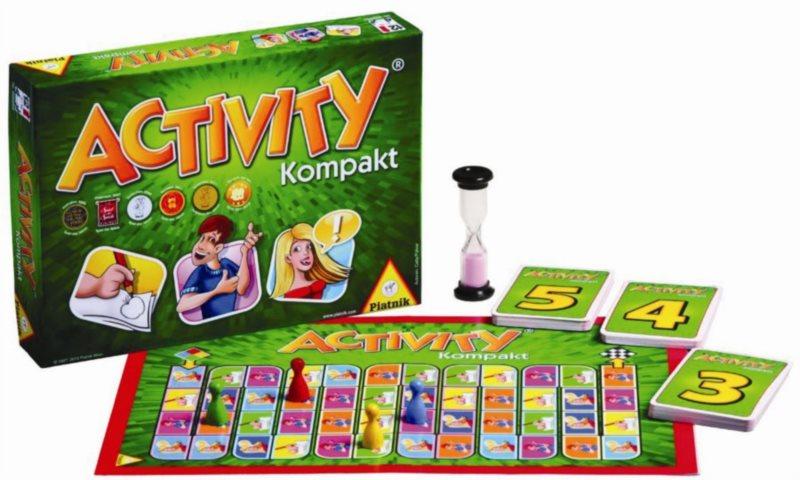 Společenská hra Activity Kompakt, PIATNIK