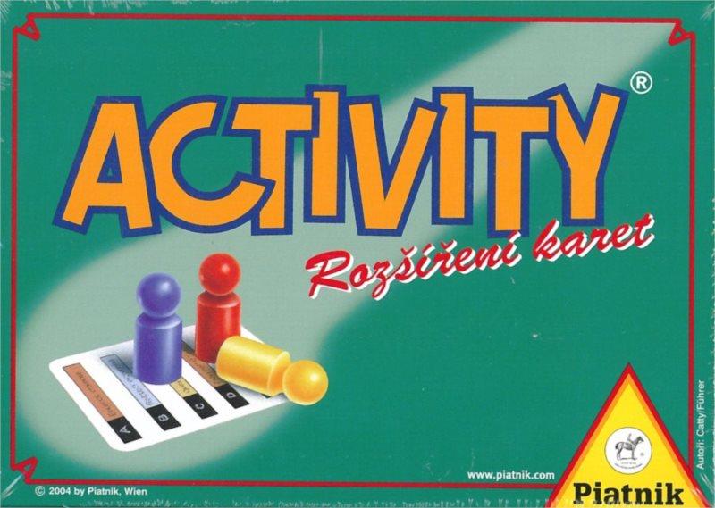 Activity: Rozšíření karet