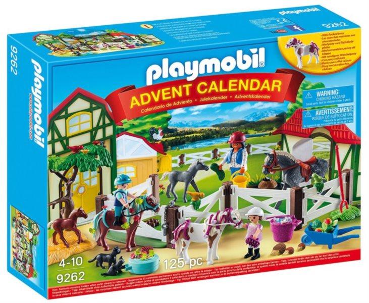 PLAYMOBIL Adventní kalendář Koňská farma 9262
