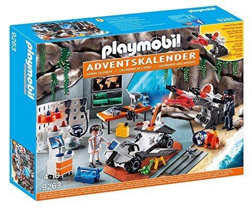 PLAYMOBIL Adventní kalendář Top Agents - dílna 9263