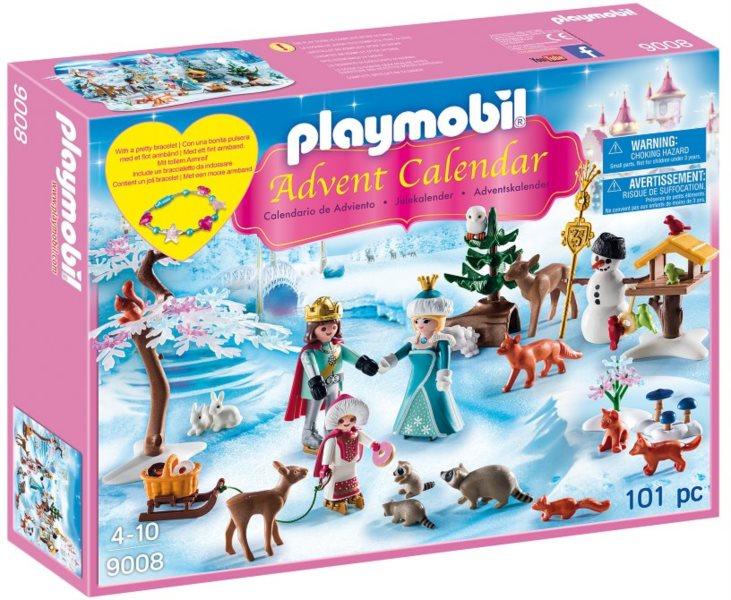 PLAYMOBIL Adventní kalendář - Bruslení v zámeckém parku 9008