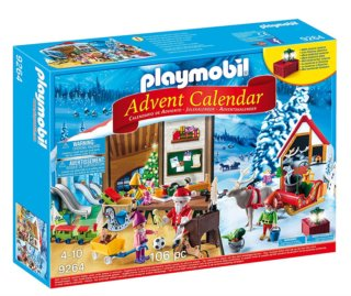 PLAYMOBIL Adventní kalendář Santa Claus a jeho dílna 9264