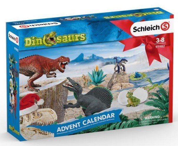 Adventní kalendář Schleich 2019 Dinosauři