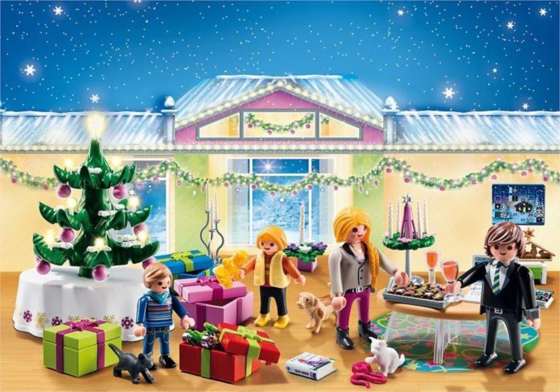 Playmobil 5496 Adventní kalendář - Vánoční pokoj