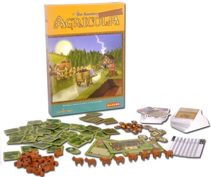 Společenská hra Agricola: Sedláci z blat (rozšíření), MINDOK