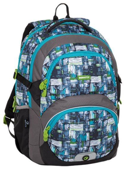 BAGMASTER Školní batoh THEORY modrý