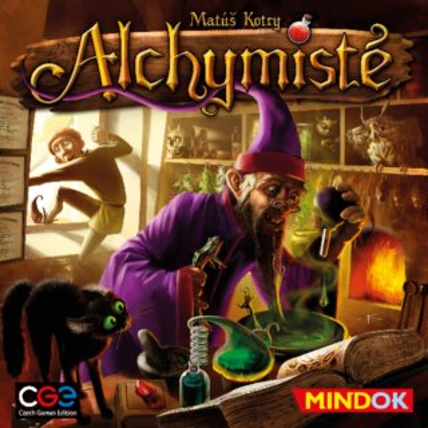 Společenská hra Alchymisté, MINDOK