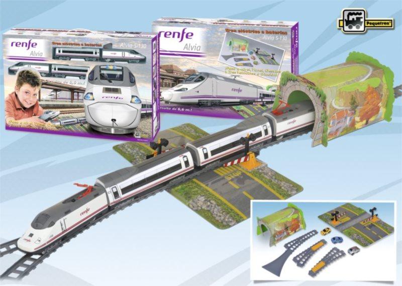 Osobní vlak PEQUETREN ALVIA S-130