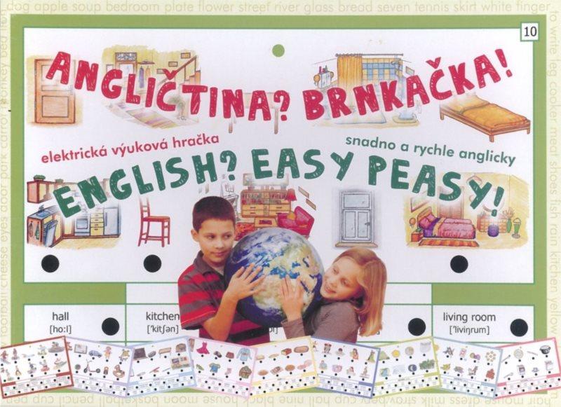 Elektronická kombinační hra pro děti - Angličtina? Brnkačka!
