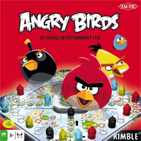 Stolní hra Angry Birds ALBI Člověče, nezlob se