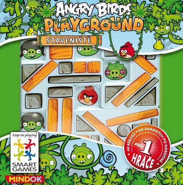Logická hra Angry Birds: Staveniště, MINDOK