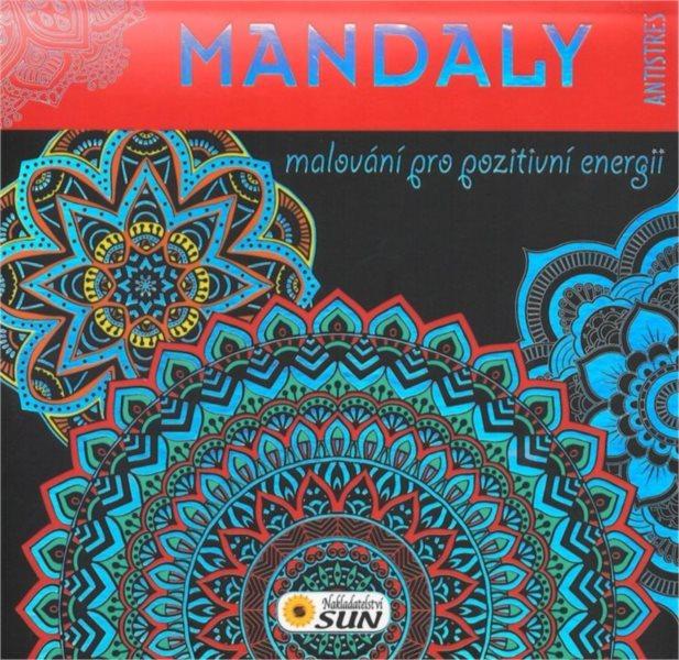 Antistresové omalovánky: Mandaly (červené)