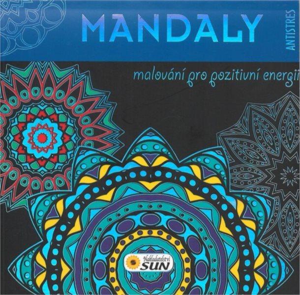 Antistresové omalovánky: Mandaly (modré)