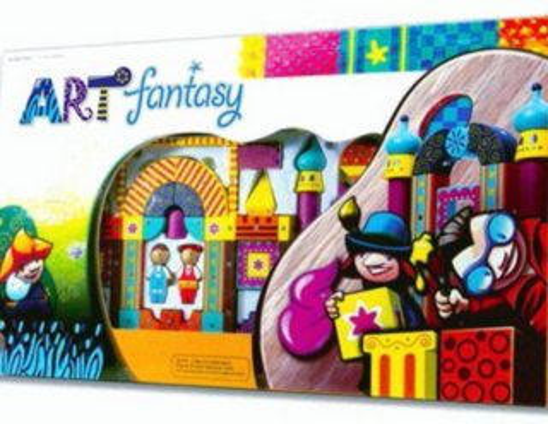 Magnetická stavebnice Genii Creation - ART - fantasy