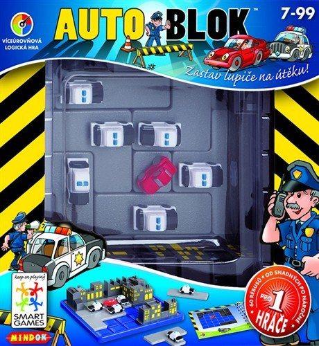 Logická hra Auto blok, MINDOK