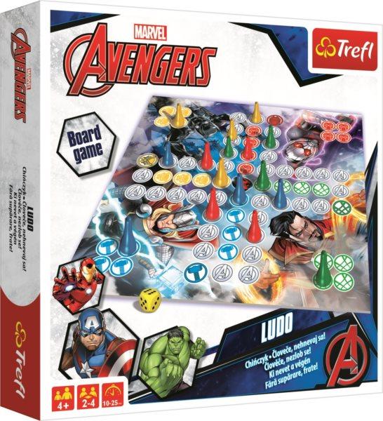 TREFL Člověče, nezlob se! - Avengers