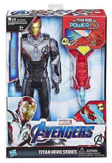 HASBRO Avengers: Titan Hero Power FX Iron Man 30cm