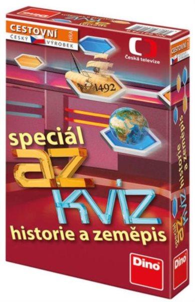 Cestovní hra AZ kvíz speciál - historie a zeměpis, DINO