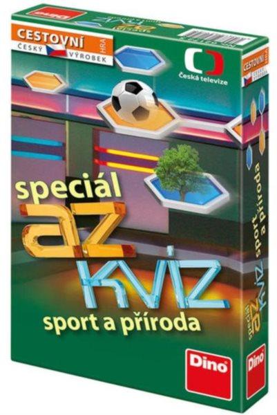 Cestovní hra AZ kvíz speciál - sport a příroda, DINO