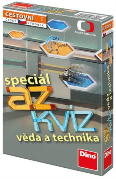 Cestovní hra AZ kvíz speciál - věda a technika, DINO