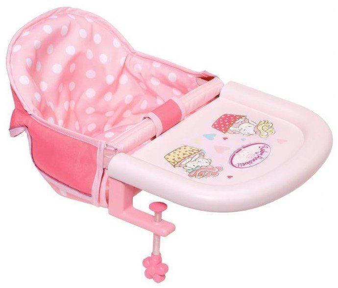 ZAPF CREATION Baby Annabell: Jídelní židlička s uchycením na stůl