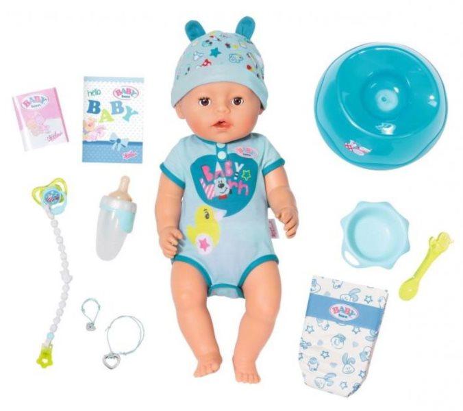 ZAPF CREATION Baby born Chlapeček