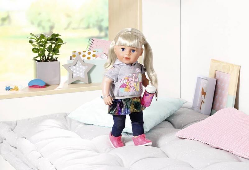 ZAPF CREATION Baby born Starší sestřička Soft Touch blondýnka
