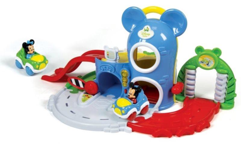 poškozený obal: BABY CLEMENTONI, Mickey Mouse - Zábavná interaktivní garáž