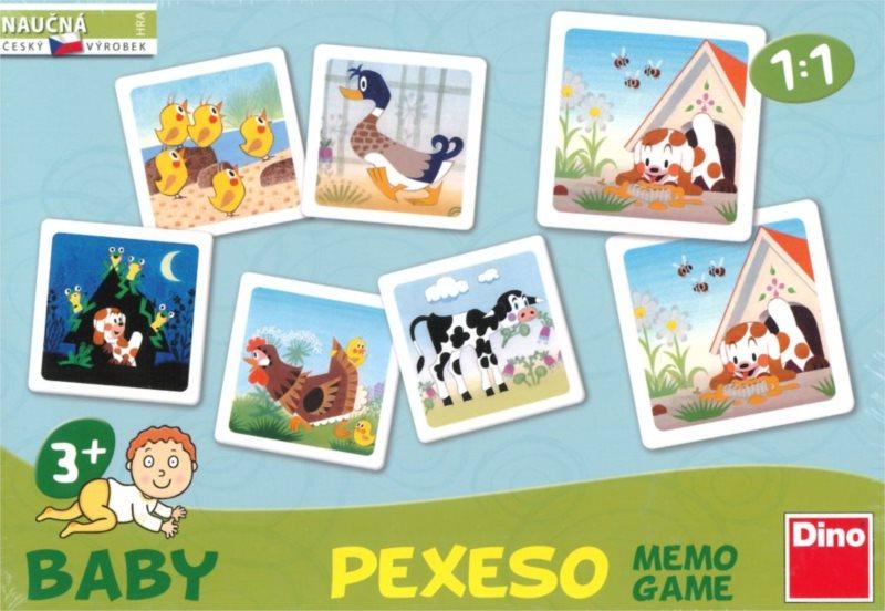 Dětská hra Štěňátko - Baby pexeso pro nejmenší, DINO