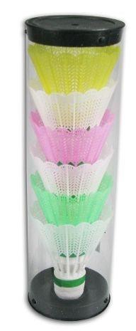 Badmintonové košíčky barevné 6 ks