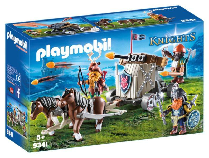 PLAYMOBIL Balista pro trpaslíky tažená poníky 9341
