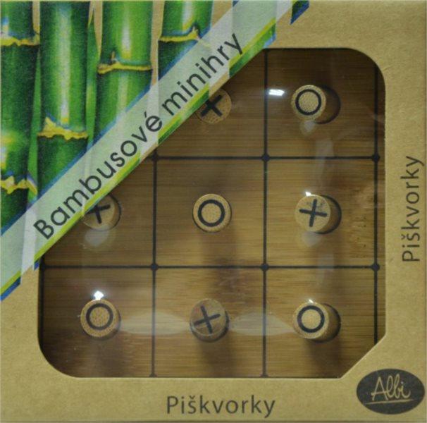 Bambusové minihry Piškvorky