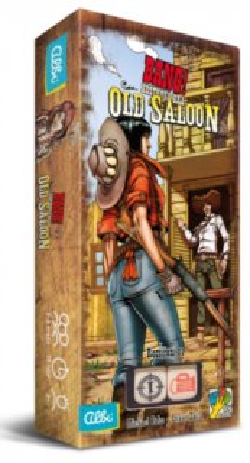 ALBI Bang! - kostková hra: Old Saloon (1. rozšíření)