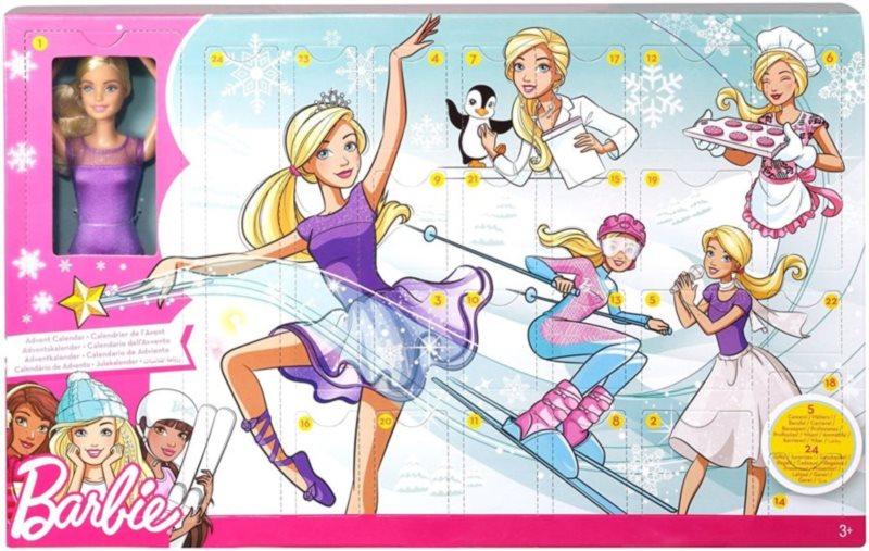MATTEL Barbie Aventní kalendář