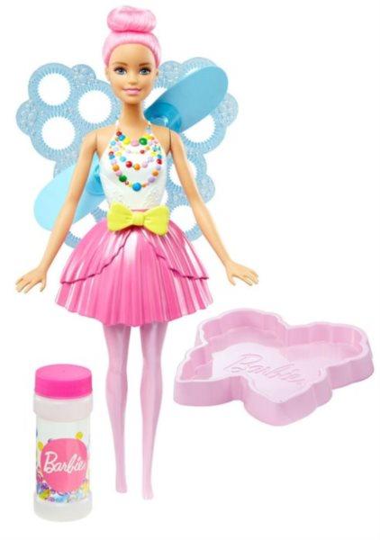 MATTEL Barbie Bublinková víla - Světle růžová
