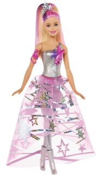 MATTEL Barbie Hvězdná galaktička ve hvězdné róbě