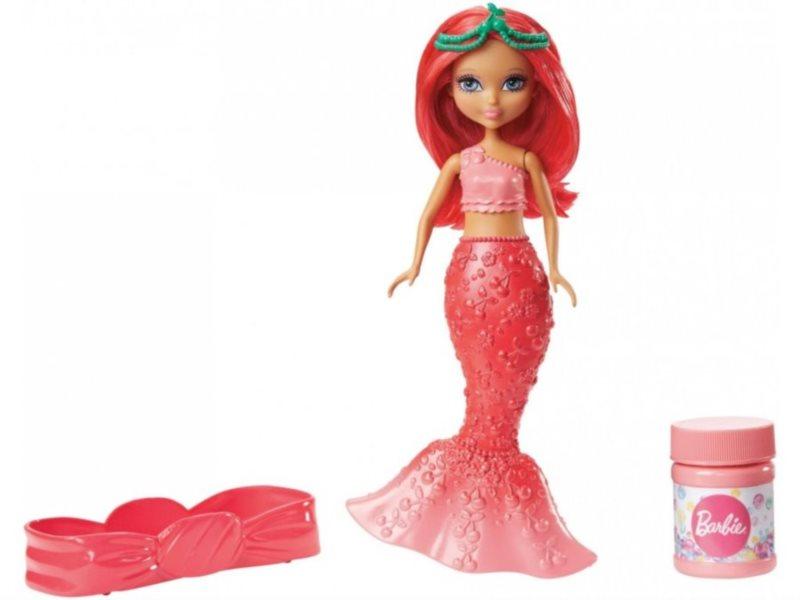 MATTEL Barbie Malá bublinková víla - Červená