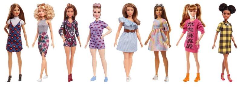 MATTEL Barbie Modelka 1ks (mix)