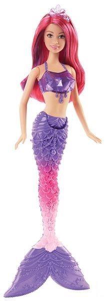 MATTEL Barbie Mořská panna - Fialová