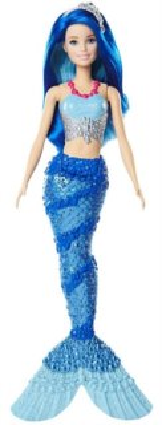 MATTEL Barbie Mořská panna - modrá