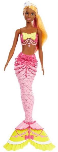 MATTEL Barbie Mořská panna - růžová