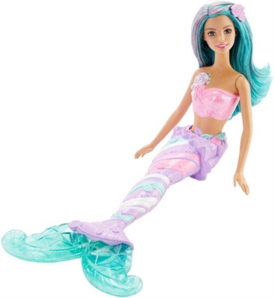 MATTEL Barbie Mořská panna - Zelená