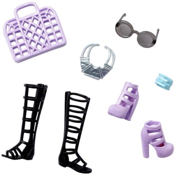 Barbie Party doplňky - Černo-fialové