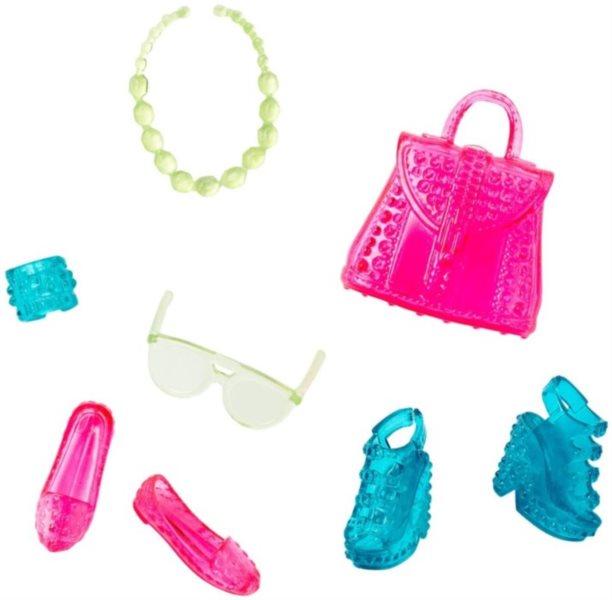 MATTEL Barbie Party doplňky - Růžovo-zelené